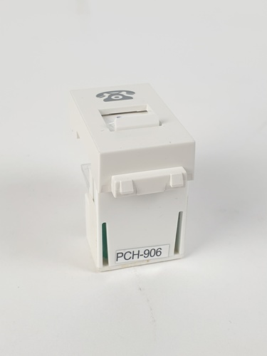 CHANG เต้ารับ TEL PCH-906 ช้าง PCH-906 สีขาว