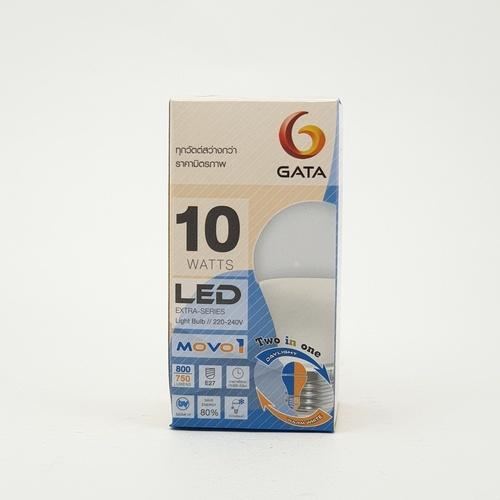 GATA หลอดแอลอีดี ทู อิน วัน 10 วัตต์ เดย์ แอนด์ วอร์ม MOVO 1 สีขาว