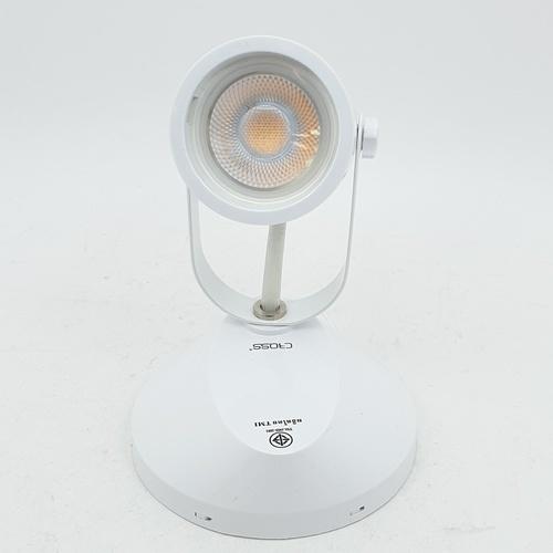 GATA โคมLEDทรงแคปซูล  Tracklight (TL01)ฐานกลมแบน 5W. Warm สีขาว