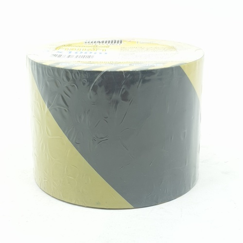 YAMADA เทปกั้นเขต ขนาด  3 นิ้ว Yellow-Black 3 เหลือง-ดำ