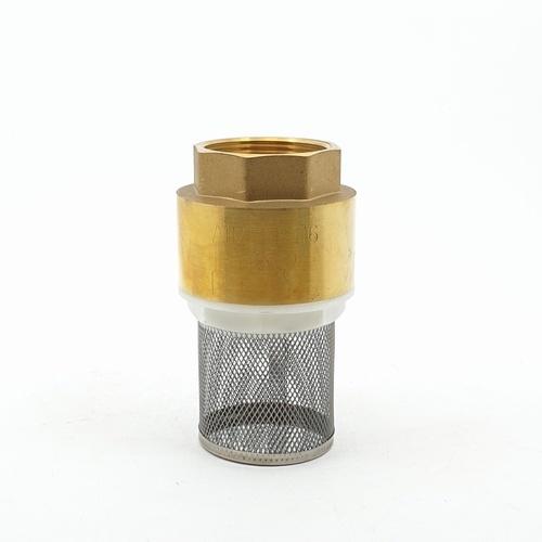 PP ฟุตวาล์ว สปริงทองเหลือง พีพี PP  ขนาด 1 1/2 ฟุตวาล์วทองเหลือง  ขนาด 1 1/2