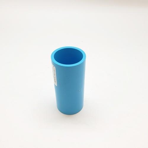 Number One ข้อต่อตรง 1 นิ้ว  หนา สีฟ้า