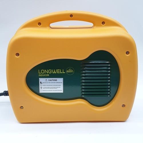 LONG WELL เครื่องเชื่อมไฟฟ้า ระบบอินเวอร์เตอร์ MMA-215 HDPE Eco - เหลือง