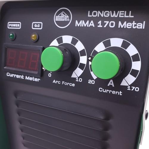 LONG WELL เครื่องเชื่อมไฟฟ้า ระบบอินเวอร์เตอร์ MMA-170 METAL