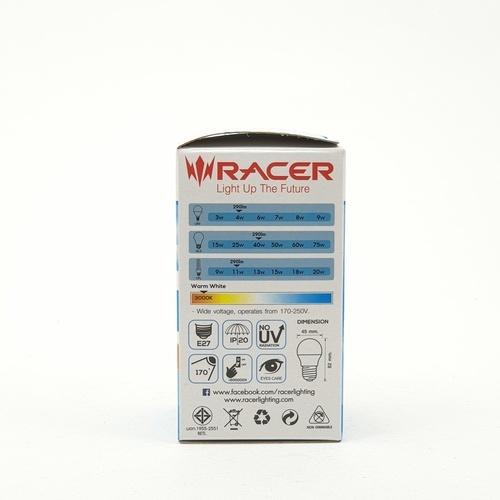 RACER หลอด LED Katie Bulb  G 45/4W. WW