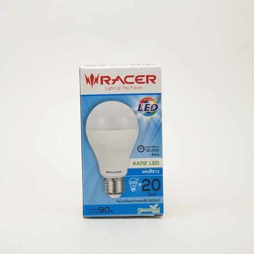 RACER หลอดแอลอีดี Bulb A70 20W แสงขาว  13201LEDDB00173 สีขาว