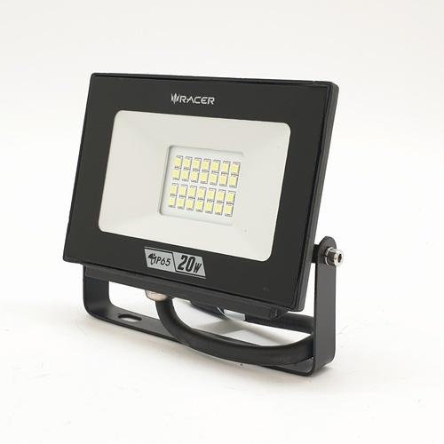 RACER โคมฟลัดไลท์ LED Eco 20W  13201LLEE000109 แสงขาว สีดำ