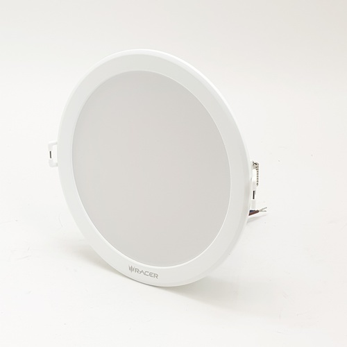 RACER แอลอีดี ดาวน์ไลท์ อีโวเท็ค  12 วัตต์  แสงเหลือง LED DOWNLIGHT   EVO TECH 12W  WW สีขาว