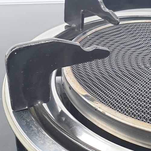 Dyna Home เตาแก๊สหน้ากระจกแบบตั้งโต๊ะ 2 หัวเตา DF-7238-I สีดำ