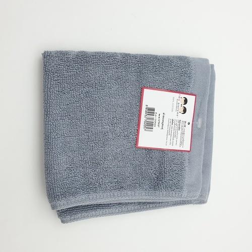 - ผ้าขนหนูขนคู่ 12x12 CGR024 สีเทา