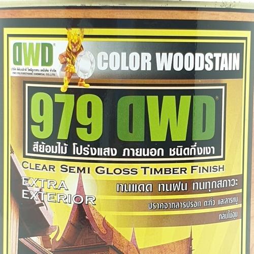 DWD สีย้อมไม้ ชนิดกึ่งเงา  (0.946ลิตร) 979DWD 509EX สีไม้โอ๊ค