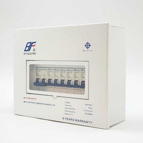 BF คอนซูเมอร์ 2 สาย 6 ช่อง 63A  PSC  6Way