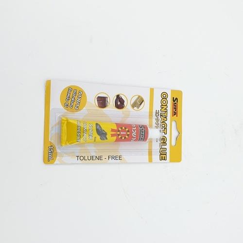 SUPA กาวยางติดหนังและไม้  ขนาด 15 กรัม SUPA3781 สีเหลือง