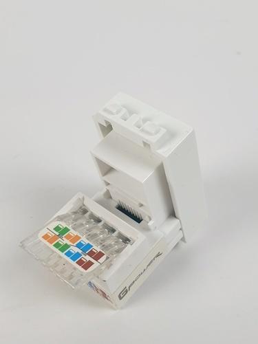 เต้ารับคอมพิวเตอร์ LAN-1 ขาว