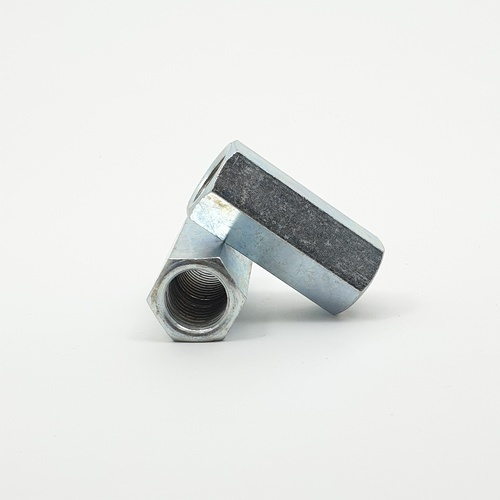 uheng ข้อต่อสตัด ขนาด 3/4 นิ้ว ดำ