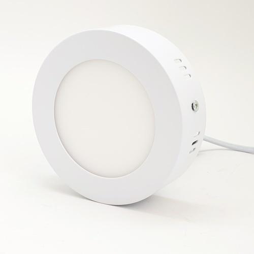 HI-TEK โคมพาแนล LED กลม ECO SERIES 6W. แสงขาว แบบติดลอย HFLEPS006D