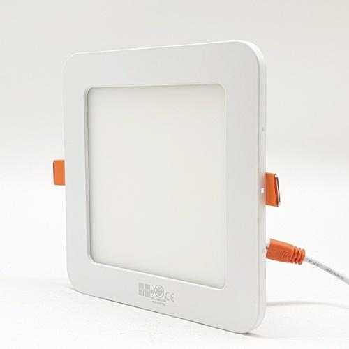 HI-TEK ดาวน์ไลท์ Led Panel 9W Eco ขนาด 145x145 mm.  HFLEPSR09D  สี่เหลี่ยมแบบฝัง (DL) สีขาว