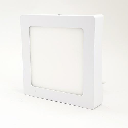 HI-TEK โคมพาแนล LED เหลี่ยม ECO SERIES 12W. แสงนวล แบบติดลอย HFLEPSS12W