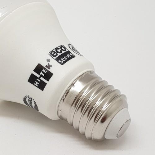 HI-TEK หลอด LED 10W ECO หรี่ได้ แสงขาว HI-TEK  HLLDE0010D