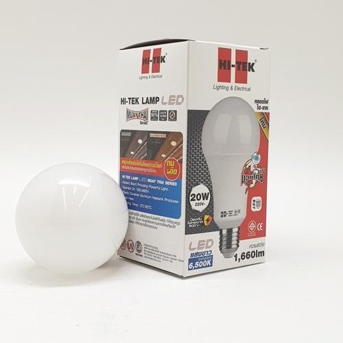 HI-TEK หลอด LED  มวยไทย Series ขั้วเกลียว E27 20W แสงขาว HLLM27020D