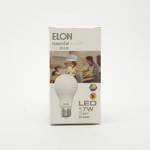 EILON หลอดแอลอีดีบัลบ์  เดย์ไลท์ Premier 7W 6500K