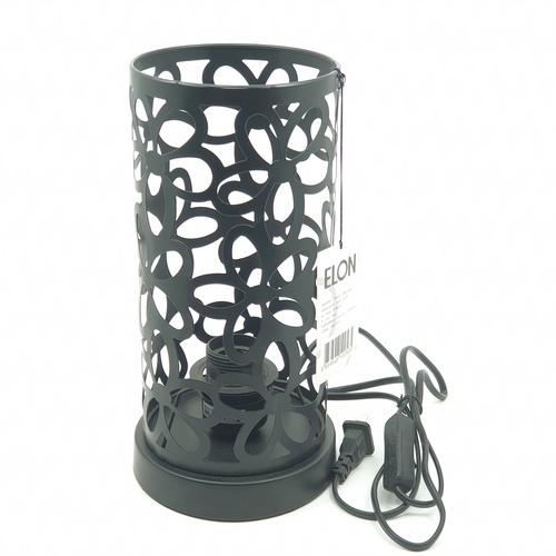 ELON โคมไฟตั้งโต๊ะ Classic MT60249-1**แถมฟรี  8859548102873 หลอดปิงปองสีฟ้า 1.5 W BL-G45-Y001 ELON** สีดำ