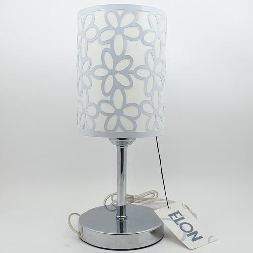 ELON โคมไฟตั้งโต๊ะ Classic MT60585-1 สีโครเมี่ยม
