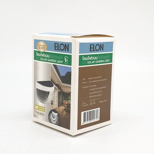 ELON โคมไฟติดผนังพลังงานแสงอาทิตย์  XLTD-5030  สีขาว