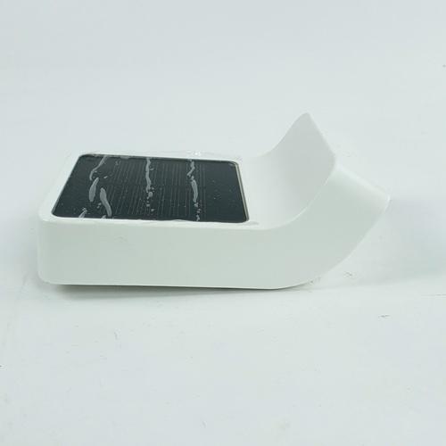 ELON โคมไฟผนังพลังงานแสงอาทิตย์กลางแจ้ง  XLTD-1501 สีขาว