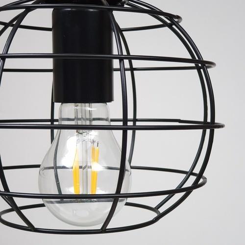 ELON โคมไฟแขวน Loft MD51004-1B สีดำ