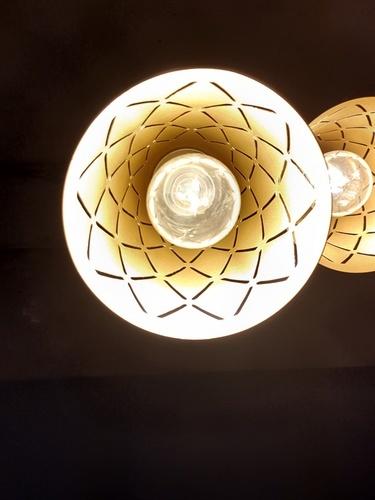 ELON โคมไฟแขวน Classic 58317-3 สีดำ