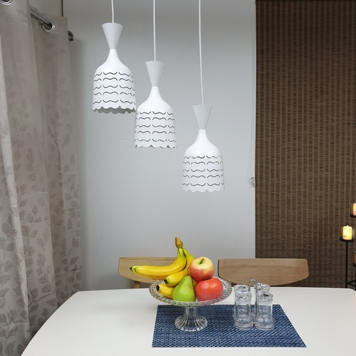 ELON โคมไฟแขวน Classic  58391-3 สีขาว