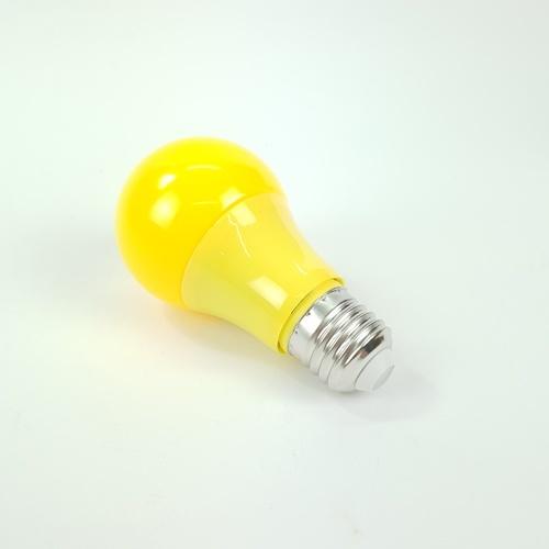 EILON หลอดแอลอีดีบัล์บ 5W วอร์มไวท์ BL-A60-SBL002  สีเหลือง