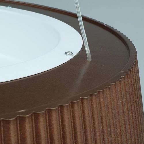 EILON โคมไฟแขวนโมเดิร์น  KDD0003/27 brown สีน้ำเงิน