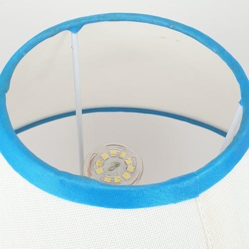 EILON โคมไฟตั้งโต๊ะแฟนซี  MTJT847 สีขาว