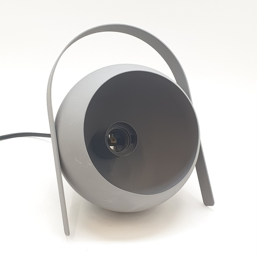 EILON โคมไฟตั้งโต๊ะวินเทจ 40 W ขั้ว E27  HFT0141B-1 สีเทา