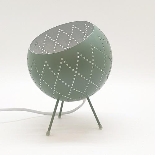 EILON โคมไฟตั้งโต๊ะวินเทจ 40 W ขั้ว E27  HFT0414D-1 สีเขียว
