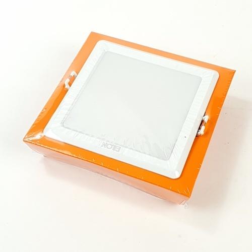 EILON ดาวไลท์ แอลอีดี 9W ขนาด 3.5นิ้ว  แบบเหลี่ยม ชนิดฝัง สีขาว