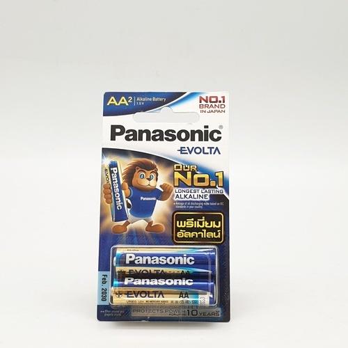 ถ่าน LR6EG/2BN PANASONIC  NO COLOR