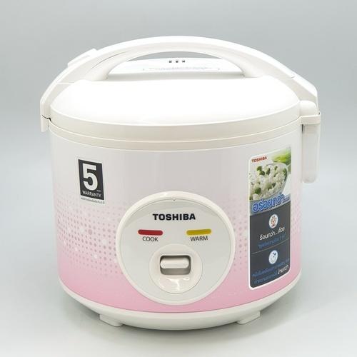 TOSHIBA หม้อหุงข้าวอุ่นทิพย์  1 ลิตร RC-T10JA (P) สีชมพู