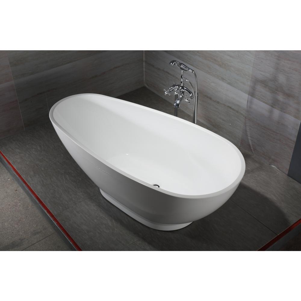 VERNO อ่างอาบน้ำ โมริ VN-3177 สีขาว