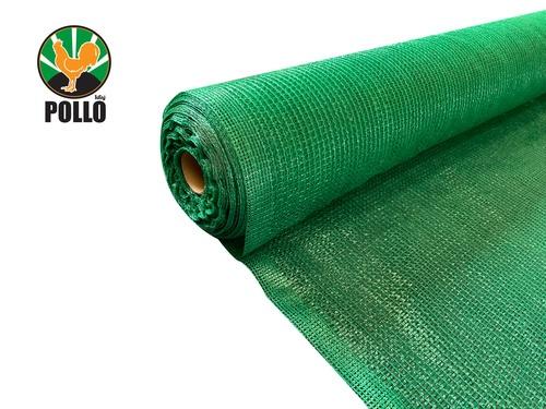 POLLO สแลนท์ HDPE 50% ขนาด 2 x 50เมตร SH-3210-55 สีเขียว