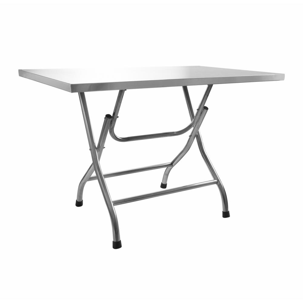 SANE โต๊ะพับสเตนเลส  ขนาด 115x70x72ซม.  สแตนเลส