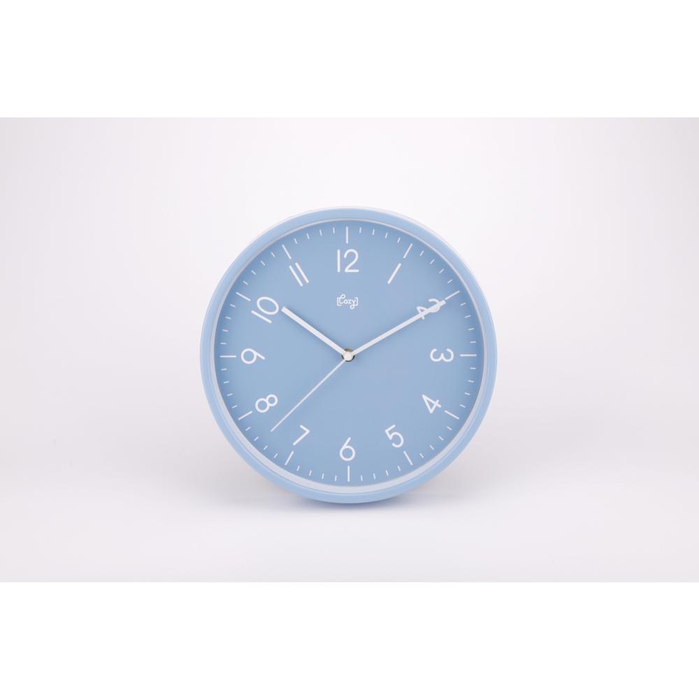 COZY นาฬิกาแขวนผนัง 30ซม. 2DY-012 สีฟ้า