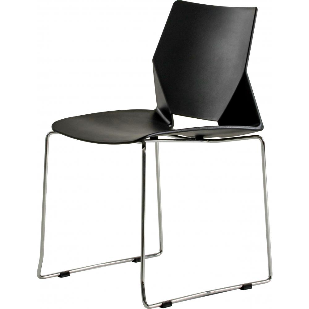 SMITH  เก้าอี้อเนกประสงค์ ขนาด  43x46x80ซม. J007-BK สีดำ
