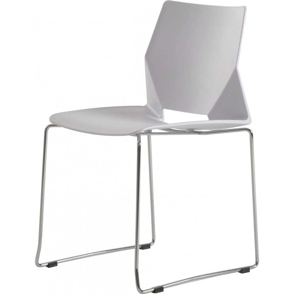 SMITH เก้าอี้อเนกประสงค์ ขนาด 43x46x80 ซม. J007-WH สีขาว