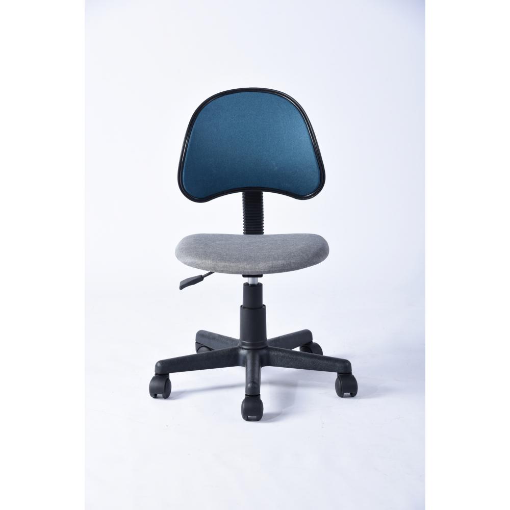 SMITH เก้าอี้สำนักงาน ขนาด  40x48x80ซม. สีฟ้า-เทา  KARIN