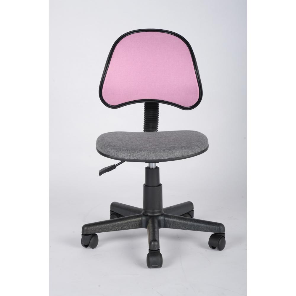 SMITH เก้าอี้สำนักงาน  ขนาด 40x48x80ซม. สีชมพู-เทา KARIN