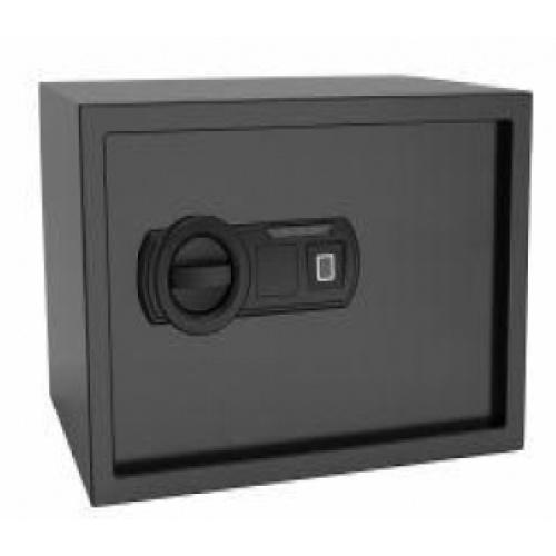 PROTX ตู้เซฟสแกนลายนิ้วมือ 25*35*25ซม 25FIE สีดำ  คละสี