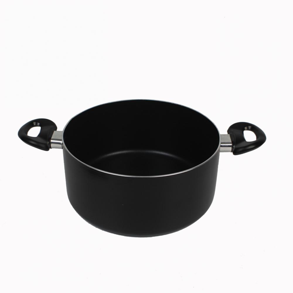 Koch Kitchen หม้อต้มพร้อมฝา Non-Stick 30ซม.  GENKI-SUPOT30  ดำ